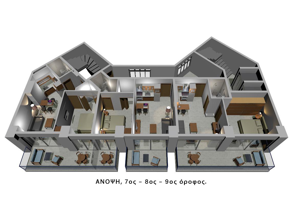 Άνοψη  (7ος - 8ος - 9ος) όροφος