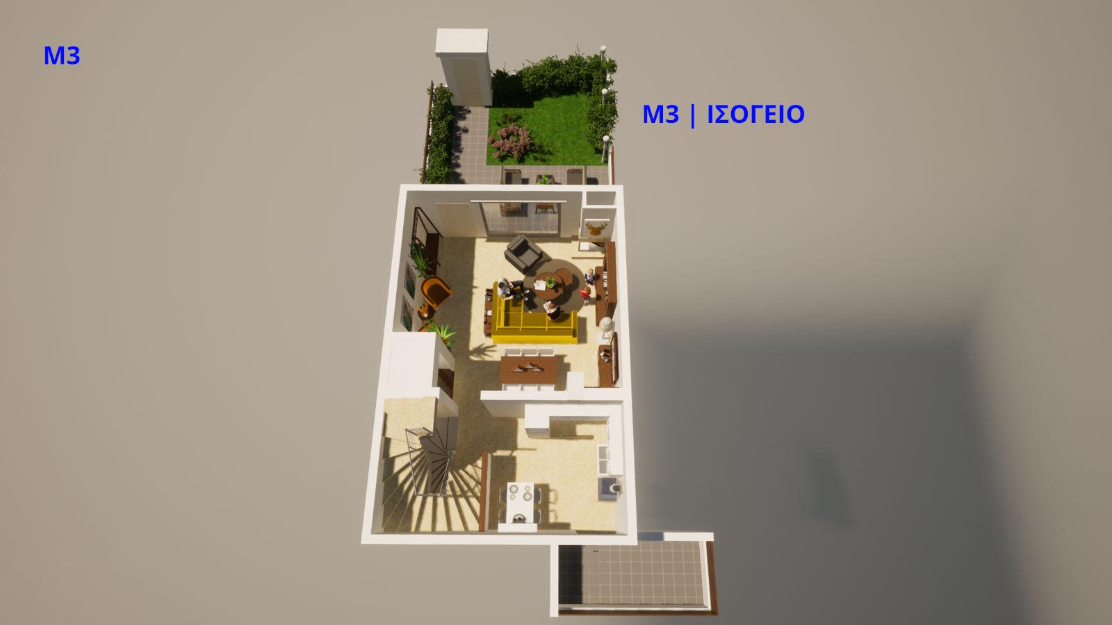 Μ3, Ισόγειο