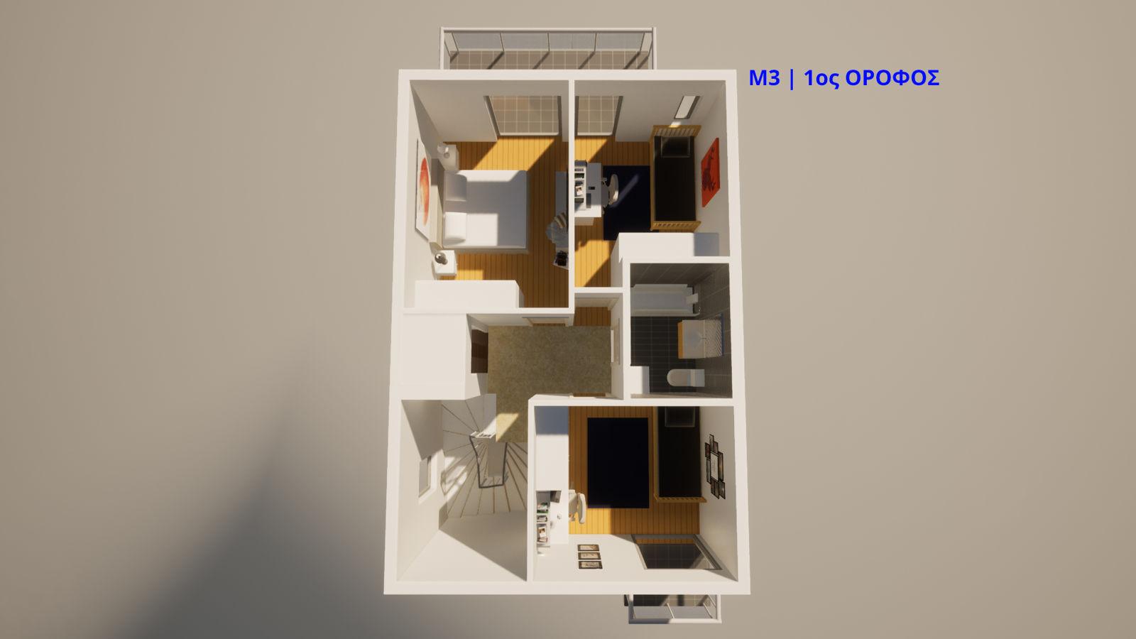 Μ3, 1ος όροφος