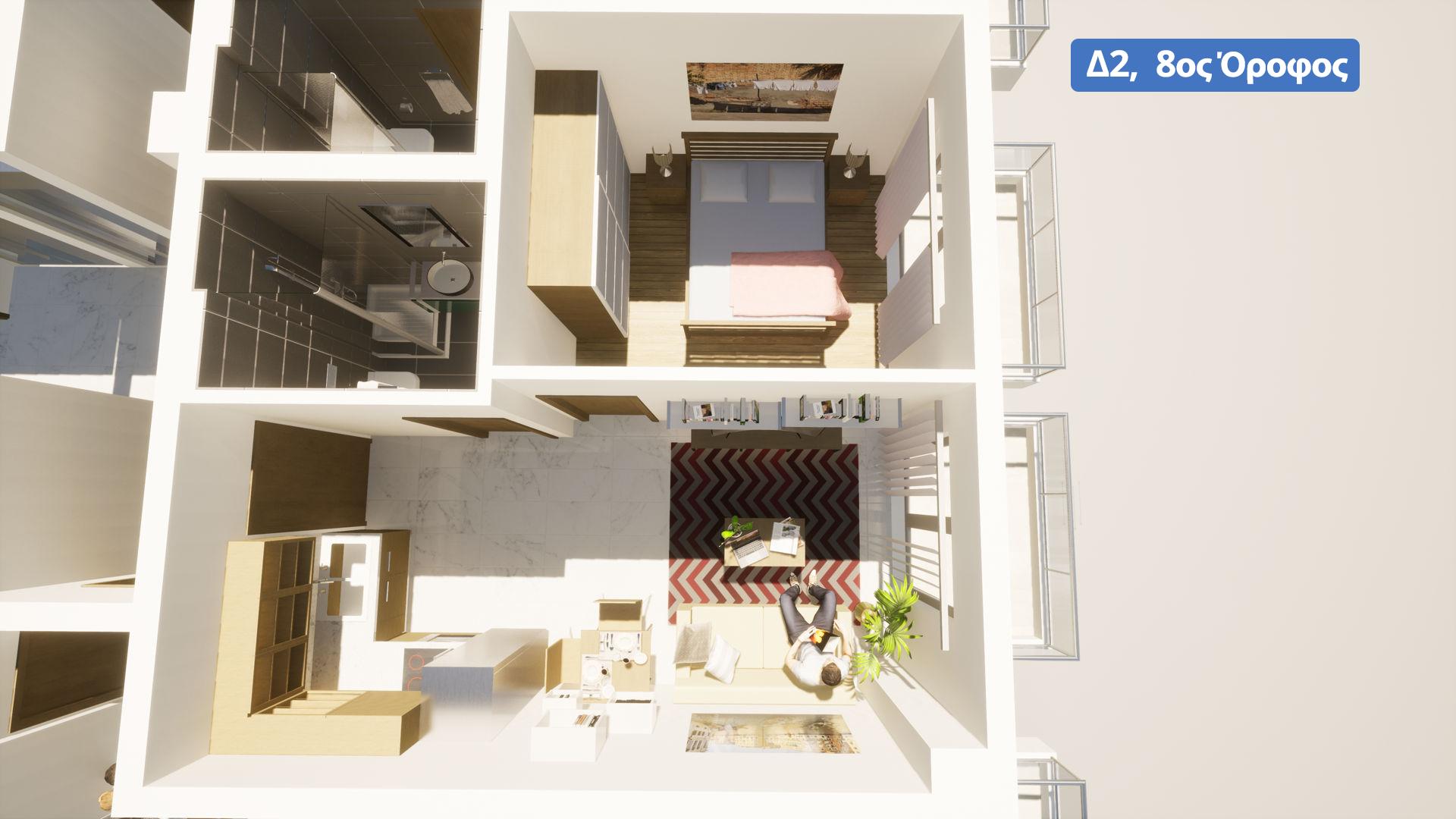 Δ2, 8ος όροφος