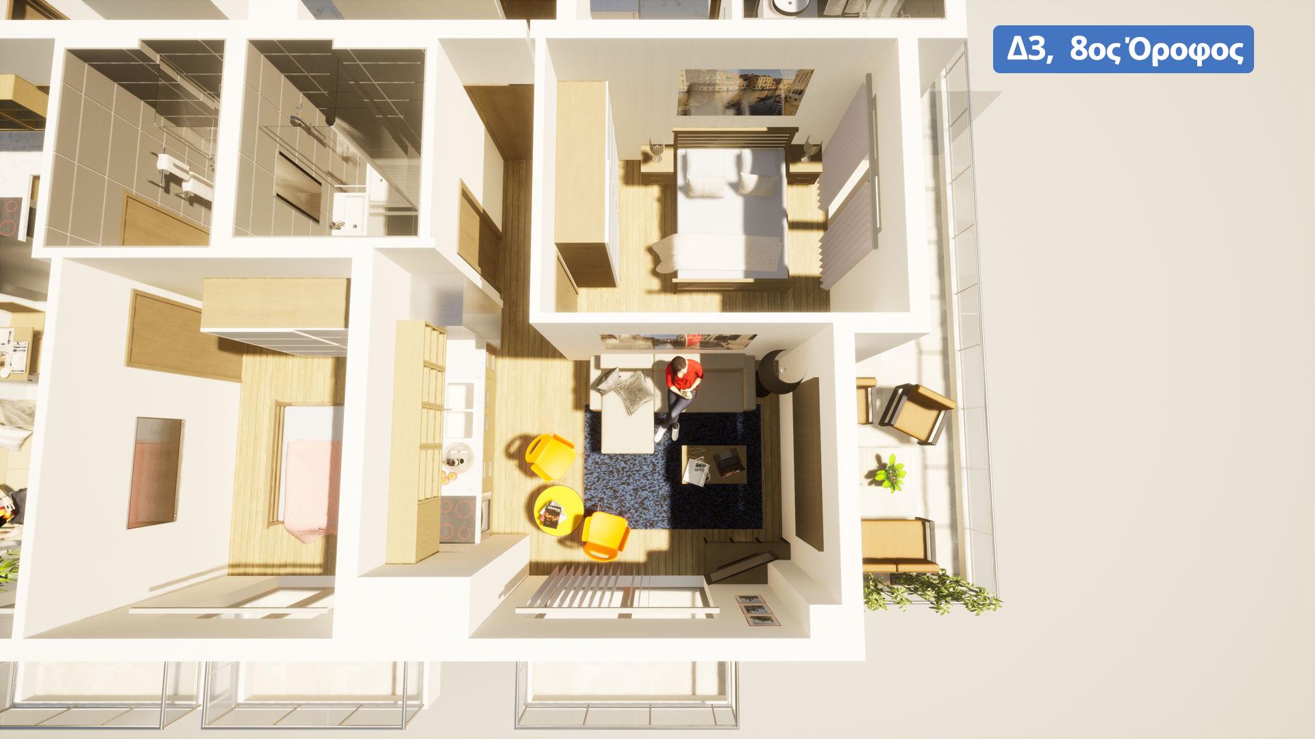 Δ3, 8ος όροφος